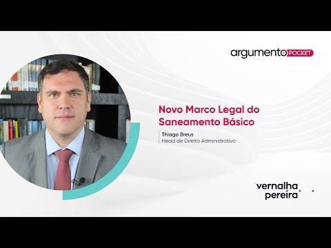 O novo marco regulatório do saneamento básico | Argumento Pocket 05