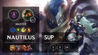 Nautilus Support vs Janna - EUW Master Patch 11.12