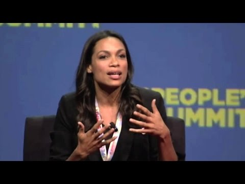 Rosario Dawson at People's Summit: We Need to Stay the Course to Build a New Movement