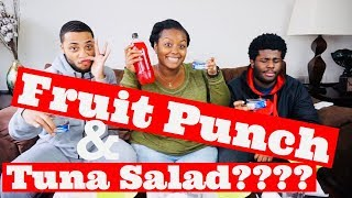 We Tried Adrienne Bailon's Fruit Punch Tuna Salad!!!