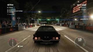 GRID 2 PC Multiplayer Gameplay: Tier 2 Fully Upgraded Chevrolet Camaro Z28