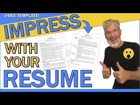 Chronological Resume Sample PDF | HOW TO IMPRESS WITH YOUR RESUME