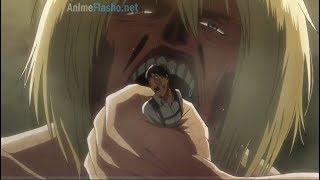 Armin se come a Bertholdt   Sub español   Shingeki no kyojin temporada 3 parte 2 capitulo 6