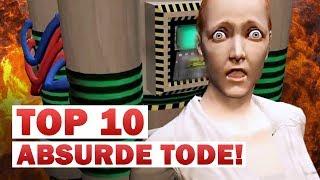 TOP 10: ABSURDE TODE in Games 💀 NerdRanking