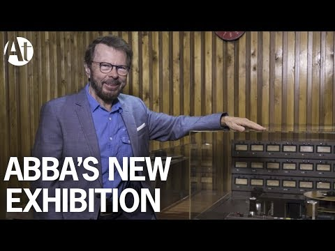 ABBA Super Troupers The Exhibition, London's Southbank Centre 2017 / Reunion Interview Agnetha Frida