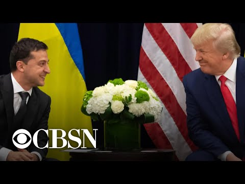 Trump says he had a second Ukraine call