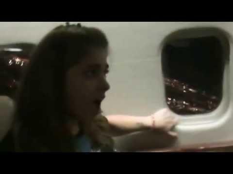 Jamie's first Private Jet flight