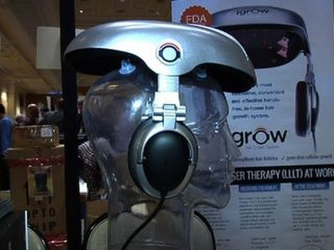 El casco iGrow dice tener la solución para la calvicie