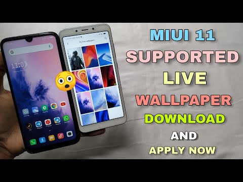 MIUI 11 More Live Wallpaper | Apply Without Any Third Party Apk