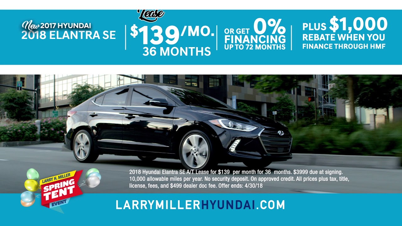 Awesome Spring Tent Event | Larry H. Miller Hyundai Peoria