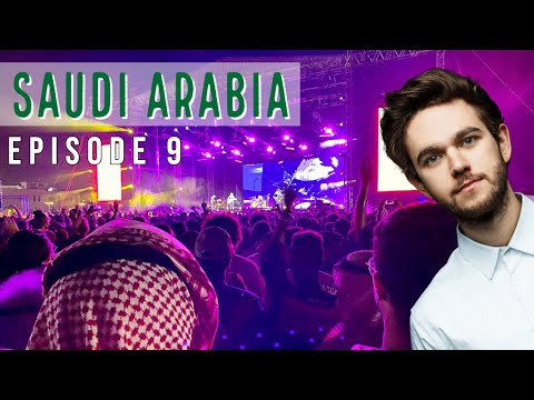 ZEDD Concert in SAUDI ARABIA?! (You Won't Believe This is Saudi) American in Saudi Arabia #9