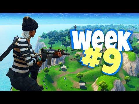 Fortnite WEEK 9 Challenges Guide