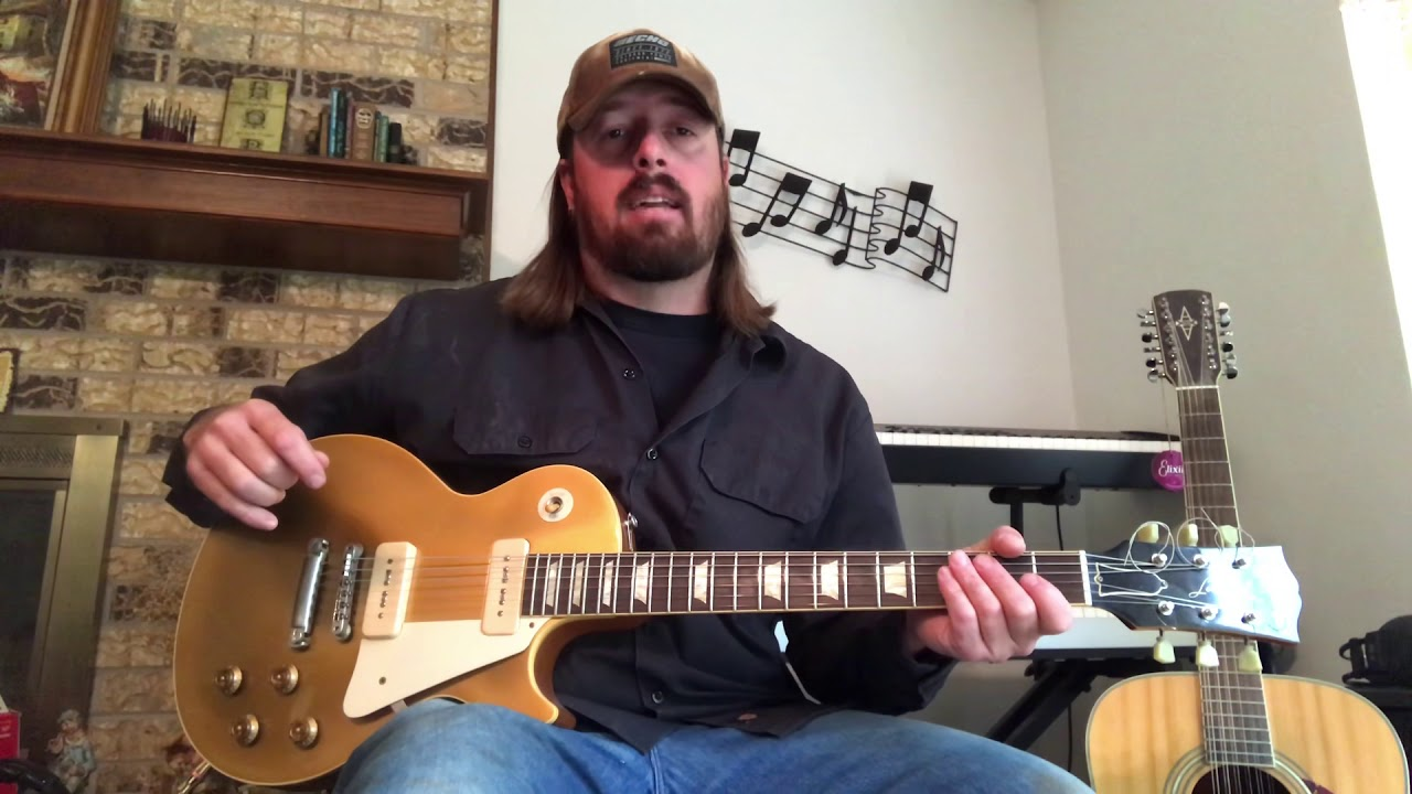How To Play The Guitar Solo To Ride Captain Ride By Blues Image