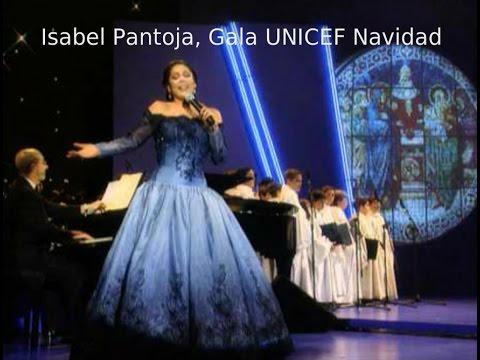 Isabel Pantoja - Gala UNICEF Navidad