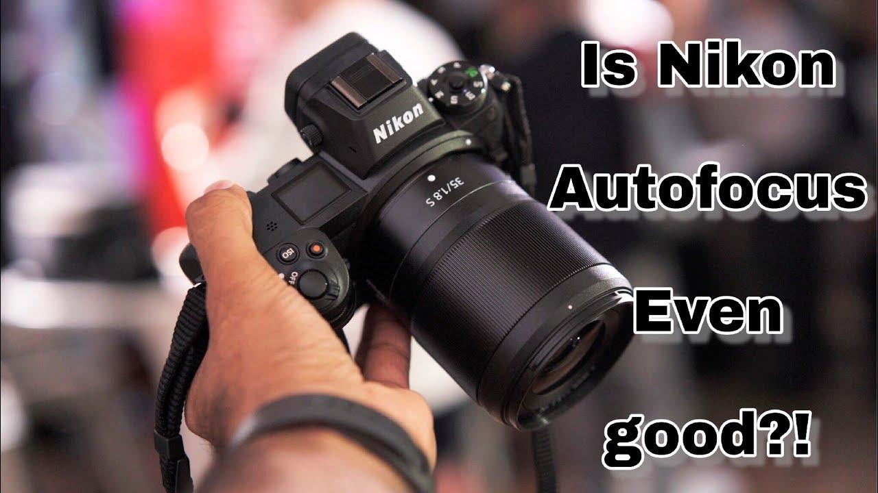 Nikon z6/z7 Video test Autofocus | Hands on video test