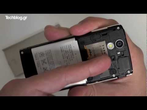Sony Ericsson Xperia Ray hands-on (Greek)