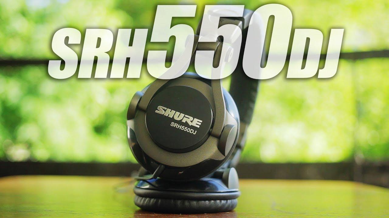 Shure SRH550DJ Headphones Review - YouTube 6391c9988e2b