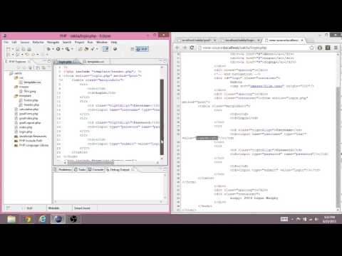 Learning PHP 7 - Logging In Using the Session (Without MySQL)