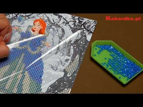 Diamond Painting Wyklejanie Kryształkami Youtube