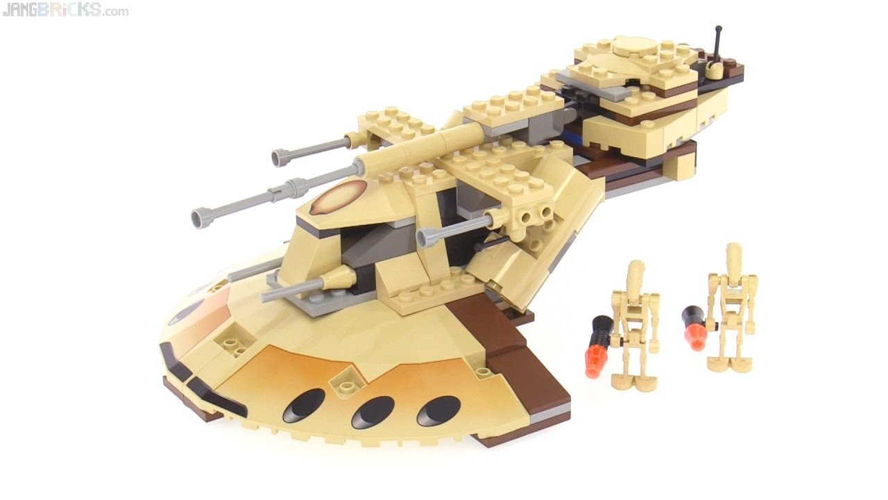LEGO Star Wars Trade Federation AAT from 2000 reviewed! 7155