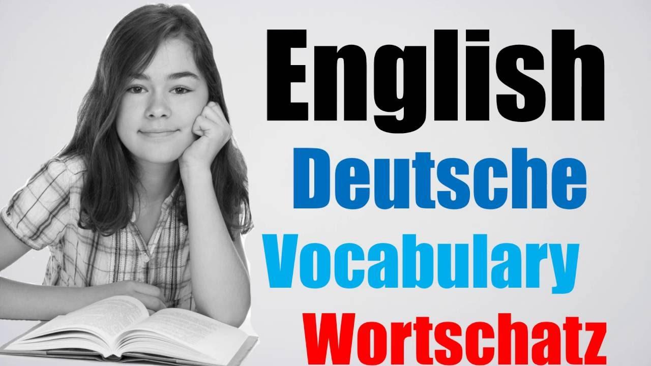 Video 116 Deutsch Englisch Wortschatz übersetzung German English Für