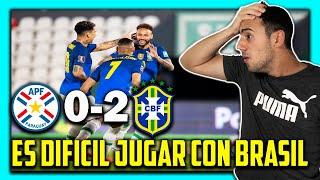 🇦🇷😱 ARGENTINO REACCIONA a 🇵🇾 PARAGUAY vs BRASIL 🇧🇷 ELIMINATORIAS SUDAMERICANAS QATAR 2022 🏆