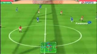 Fifa 10 Wii- Manchester United vs. Chelsea