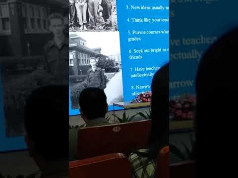 James D. Watson's Lecture on 17 March 2018 - Part 2