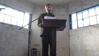 Carl Dennis: 100,000 Poets For Change @ Silo City, Buffalo, NY (2013-09-28)