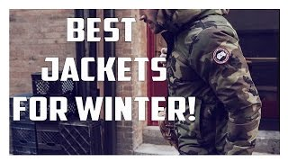 Best/Warmest Jackets For Winter!