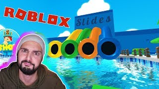 Roblox: FROM WATER PARK! Evil lifeguard wants to keep everyone captive! Escape Waterpark Obby