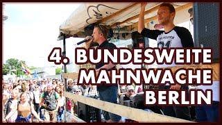 4. Bundesweite Mahnwache Berlin - Impressionen und Interviews