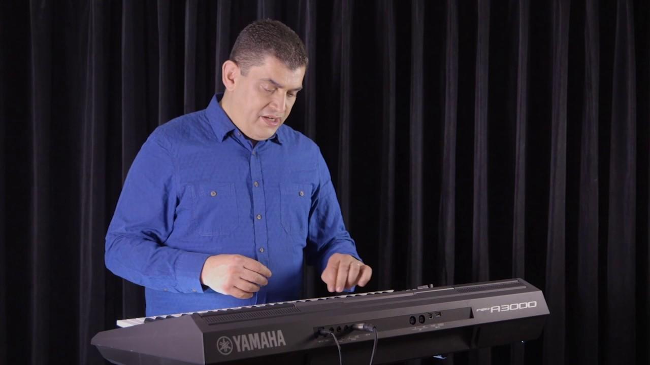 Clavier arrangeur Yamaha PSR-A3000