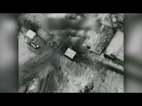 U.S. Artillery Strike on a Taliban Narcotics Production Facility in Helmand Province