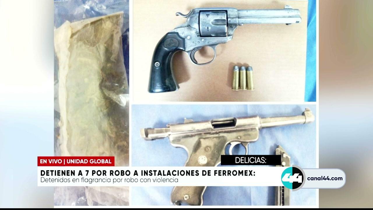 Download Detienen a 7 por robo a instalaciones de ferromex