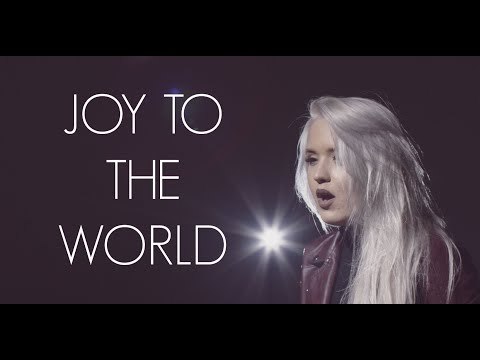 JOY TO THE WORLD - COVER BY MACY KATE - (Mariah Carey Version)