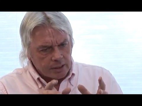 David Icke Our Time To Shine  Ron James' Bigger Questions Talk