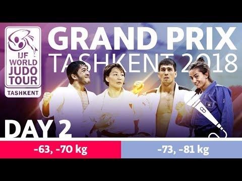 Judo Grand-Prix Tashkent 2018: Day 2