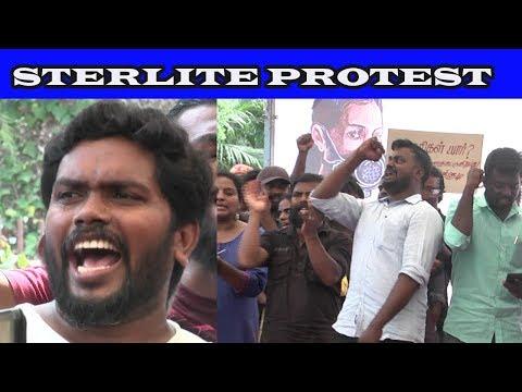 Sterlite protests Chennai 26/05/2018