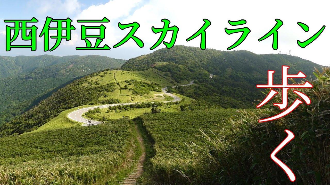 【ハイキング】今年は富士山が登れないので西伊豆スカイラインを登るw
