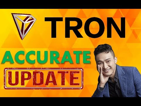 TRON'S (TRX) ACCURATE UPDATE post Testnet launch and Live Stream (April 2018)