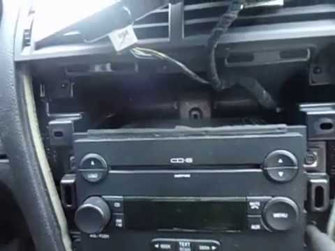 2006 2009 Ford Fusion Radio Removal And Repair Of Digital Display