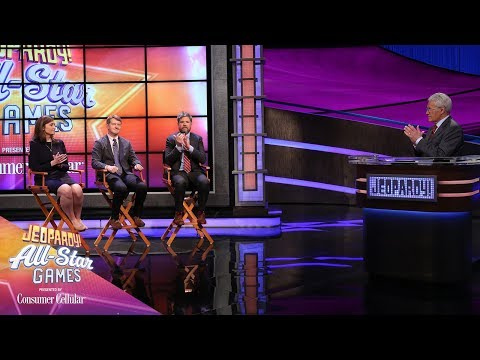 Match 2: All-Stars Captains Go In Depth With Alex | JEOPARDY!