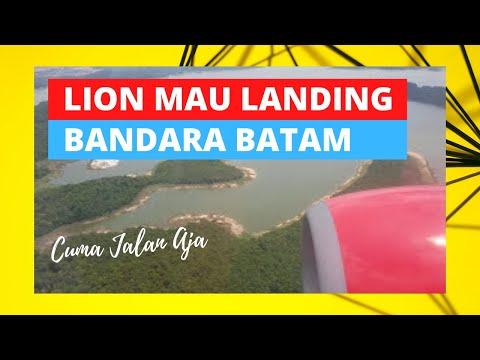 Prepare landing at Bandara Hang Nadim Batam