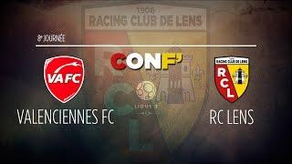 La conférence de presse avant Valenciennes - Lens