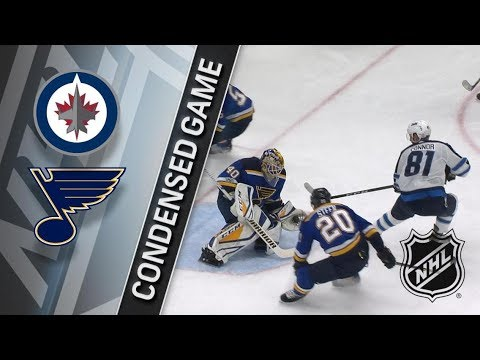 Winnipeg Jets vs St. Louis Blues – Dec. 16, 2017 | Game Highlights | NHL 2017/18. Обзор матча