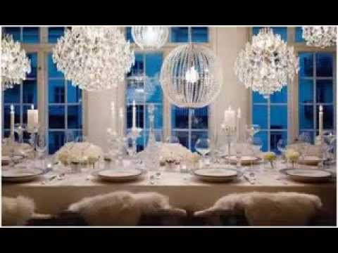 All white party decorating ideas youtube for All white party decoration