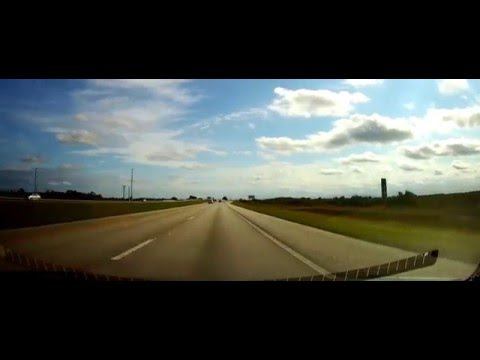 Driving from Ghetto Immokalee, Florida to Downtown Miami