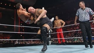Big Show & The Great Khali vs. Alberto Del Rio & Cody Rhodes: Raw, April 23, 2012