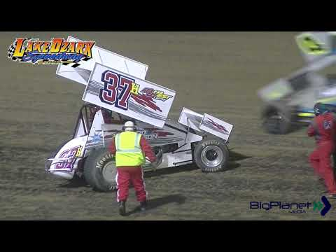 ASCS 360 Sprints Winged 5-25-19 Lake Ozark Speedway